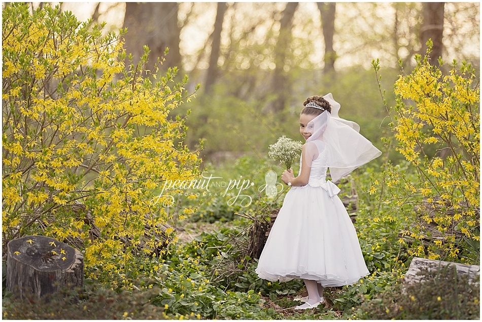 communion girl spring