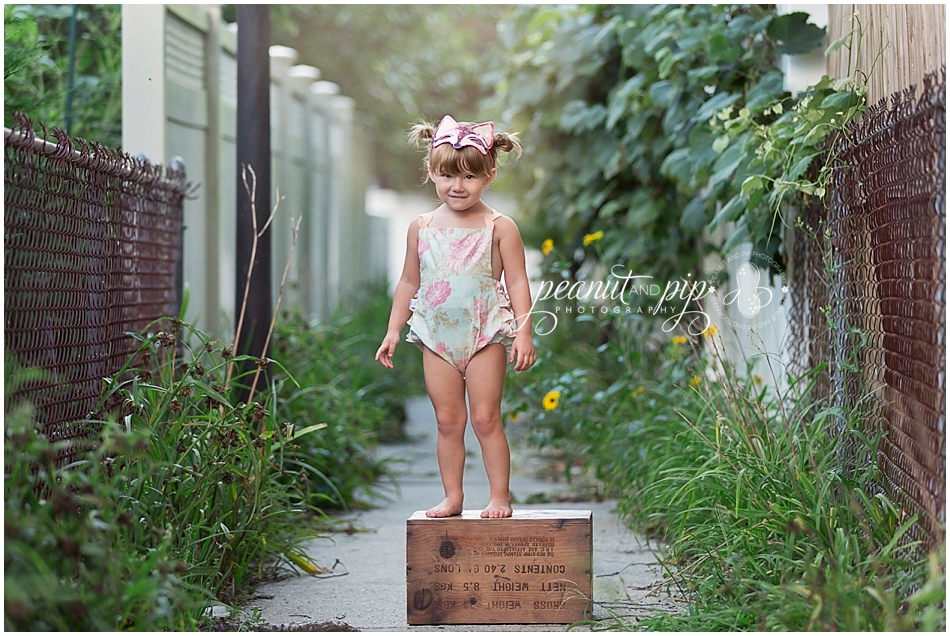 sweet summer path photo shoot