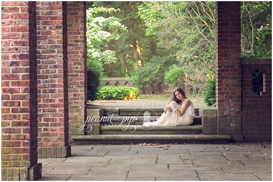 summer ethereal woodland photo shoot