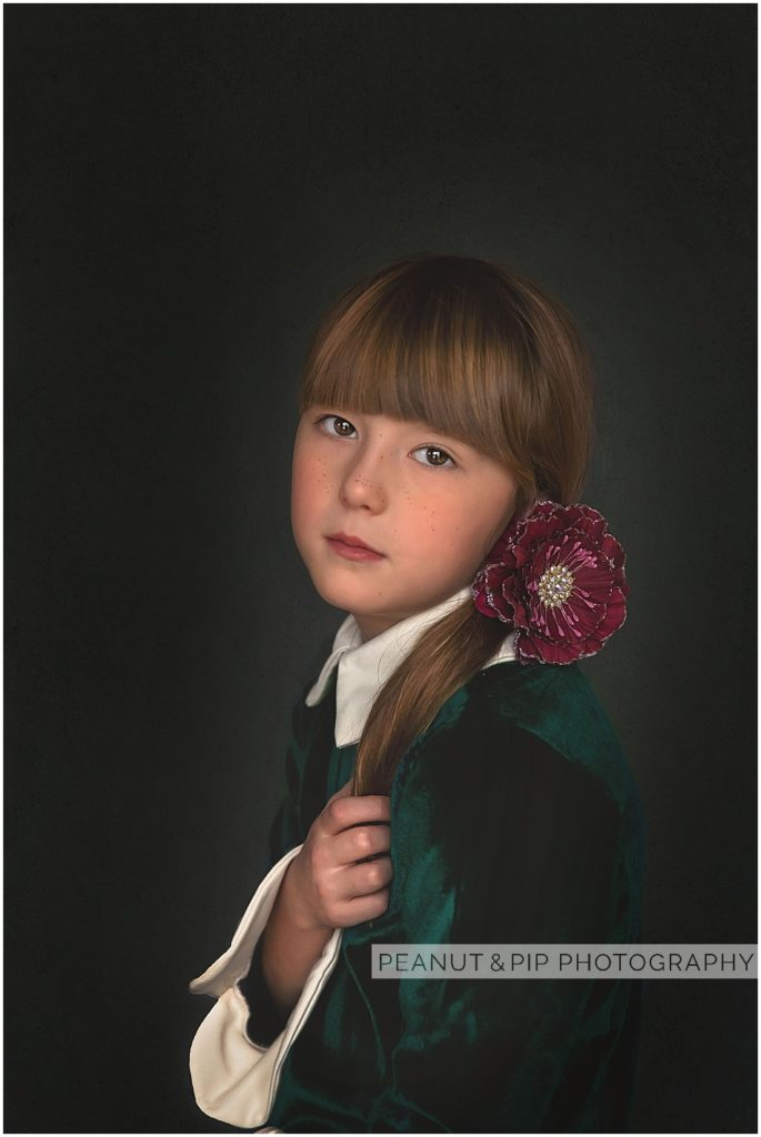 fine art studio child photo