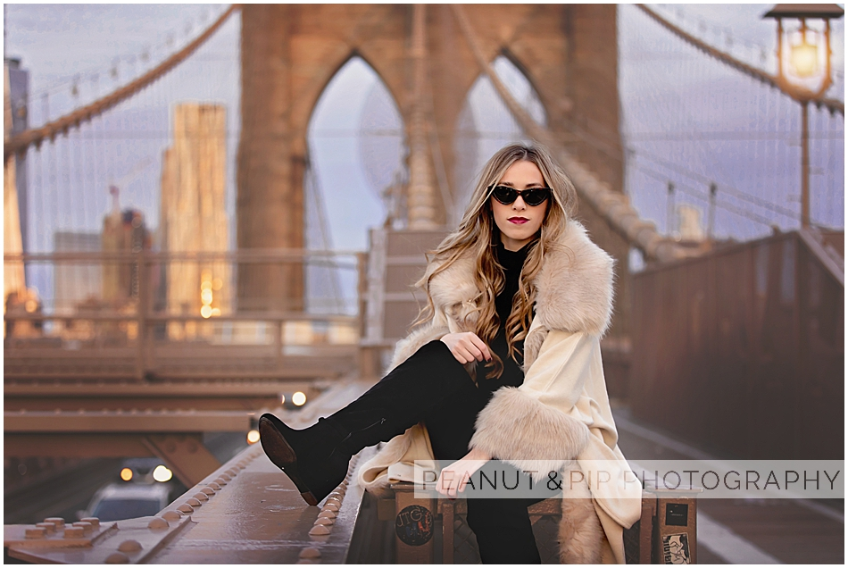NYC senior photo shoot