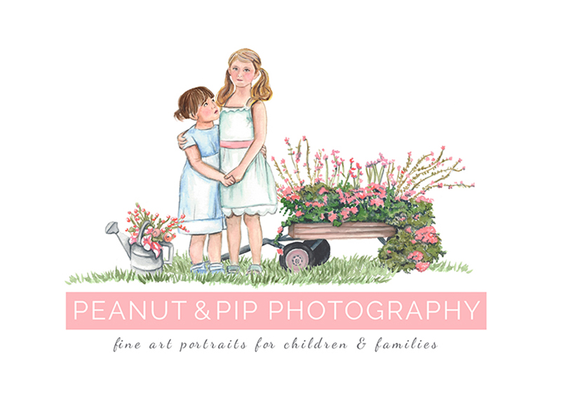 Peanut & Pip Photography | NY Portrait Photography | Senior Photography | Newborn Photography | Children Photography logo